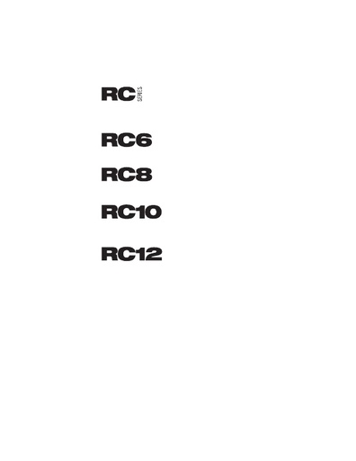 RC Series logos BLACK
